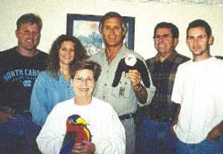Thomas Bradford, Tina Bradford, Mary Bradford, Jack Hanna, John Bradford, Andy Bradford